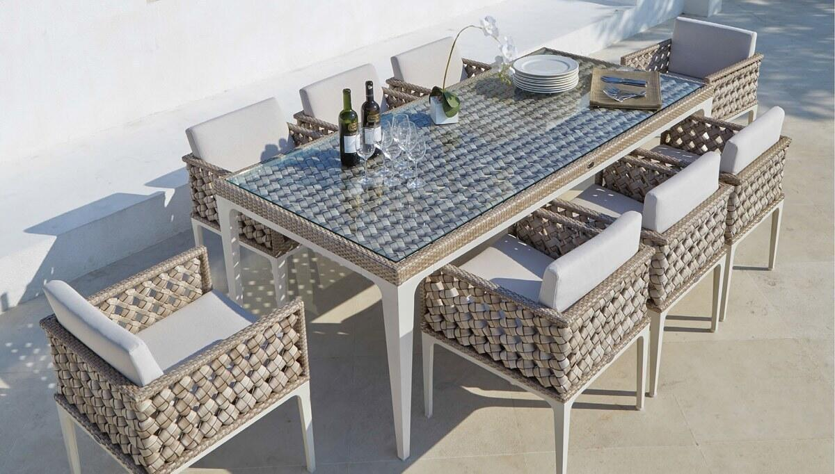 Vidar Garden Table Set