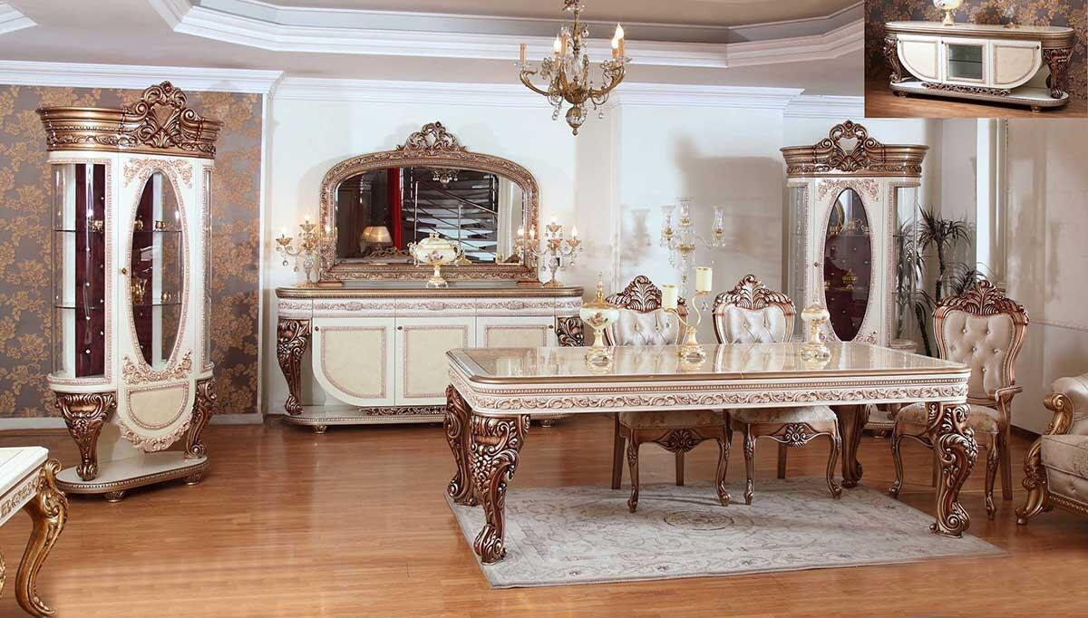Ferhunde Lake Carved Classic Dining Room