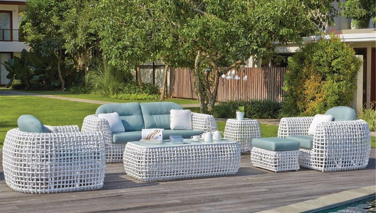 Bertal Garden Sofa Set