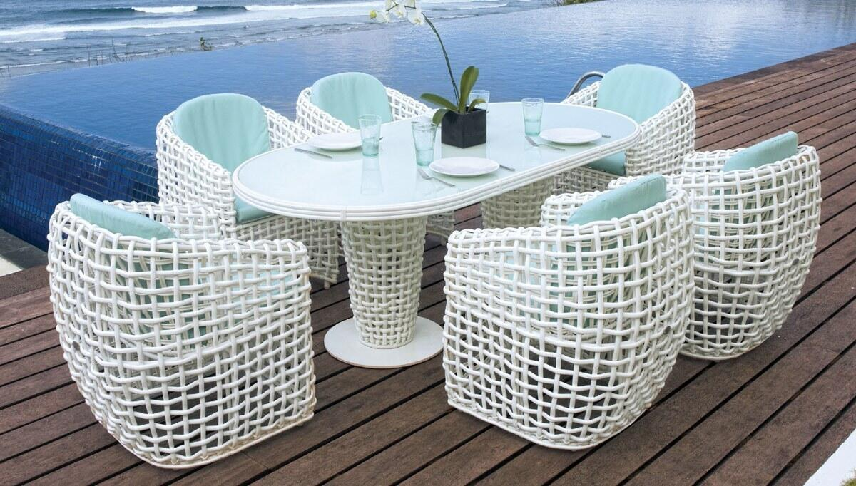 Bertal Garden Table Set