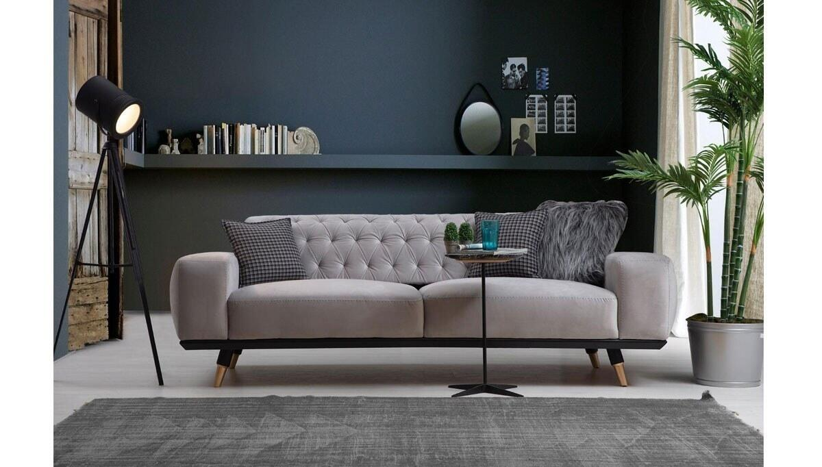 Naturan Metal Ayaklı Living Room