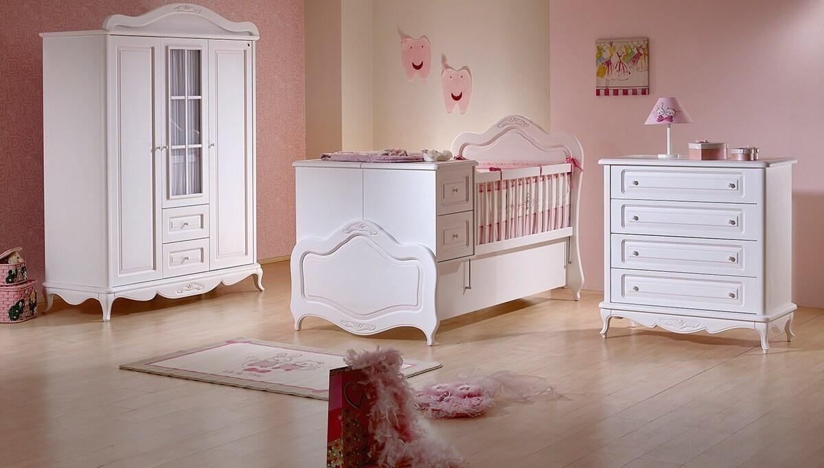 Rose Country Baby Room